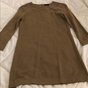 NWOT pure navy camel dress. Size XS.